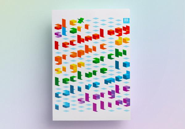 Magazine Typography Cover